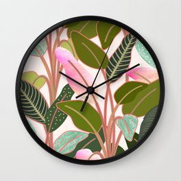 Color Paradise #society6 #decor #buyart Wall Clock