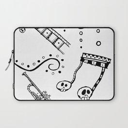 Let's Jam Halloween Music Print Laptop Sleeve