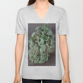 Master Kush Medical Marijuana Unisex V-Neck