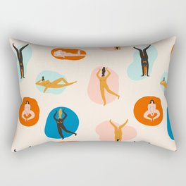 Hey, girls! Rectangular Pillow