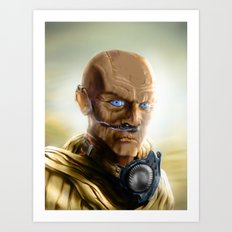 Fremen Warrior - Dune Art Print
