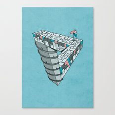 Up and Down City Canvas Print