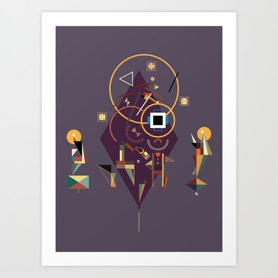 ka Art Print