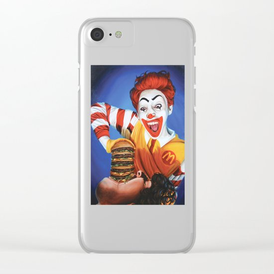 Happy Meal Clear iPhone Case