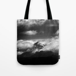 """Only one moment"" Tote Bag"