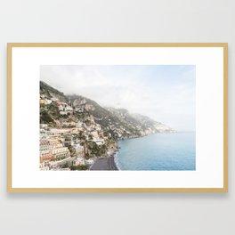 Positano, Amalfi Coast Framed Art Print