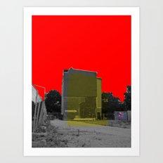 Empty (scene12) Art Print