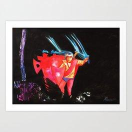 Paranoid - Sabbath Art Print