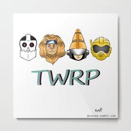 TWRP! Metal Print