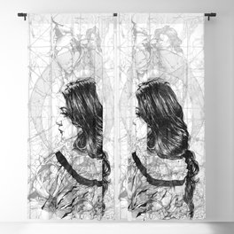 A_M_Lace. ©Yury Fadeev Blackout Curtain
