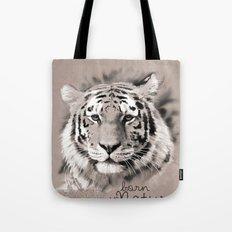 Tiger (BornInNature) Tote Bag