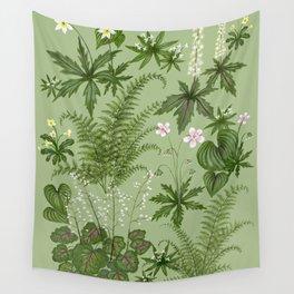 Woodland Garden Wall Tapestry