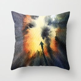 Traverse Throw Pillow