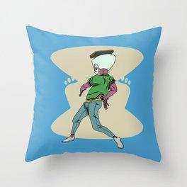Male 3 Throw Pillow