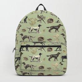 Bird-dog pattern Backpack