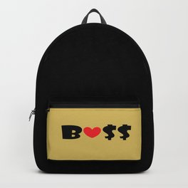 Boss (gold) Backpack