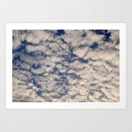 A Cloudy Day Art Print