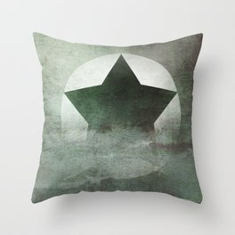 Star Composition IV Throw Pillow