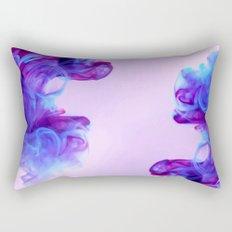Ink Drops Rectangular Pillow