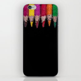 Bubbly Crayons iPhone Skin