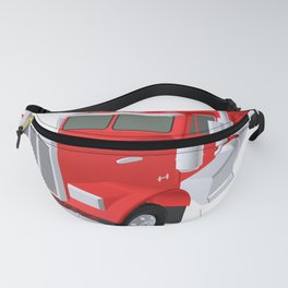 red truck Fanny Pack