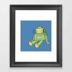 When you fall Framed Art Print