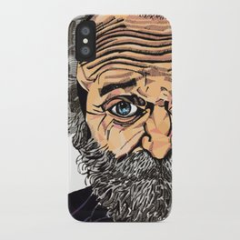 Old Man - Bethany Walrond iPhone Case