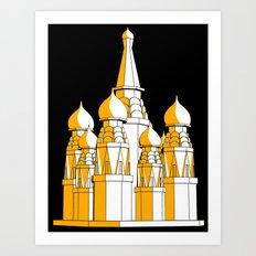 (Saint Basil's) Cathedral Art Print