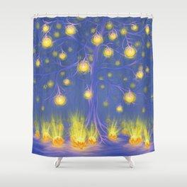 FRUITS OF LIGHT Shower Curtain