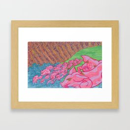 The Miracle of the Deviled Ham (#2 of 3) Framed Art Print
