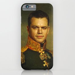Matt Damon - replaceface iPhone Case