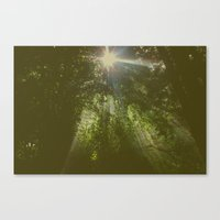 emerald Canvas Prints featuring Emerald by Ellie Rose Flynn