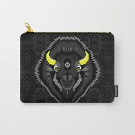 Geometric Bison Carry-All Pouch