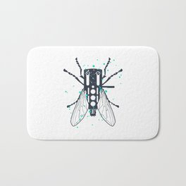 Cartridgebug of Mixing on Turntable Bath Mat