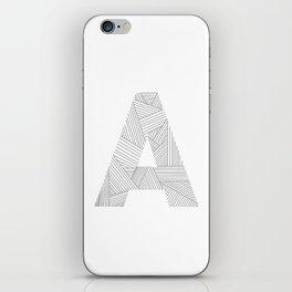 A strings iPhone Skin