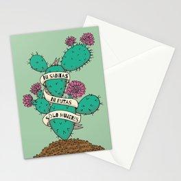 Ni Santas, Ni Putas, Solo Mujeres Gallery Print Stationery Cards