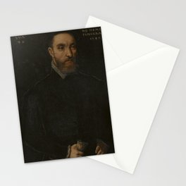 Catharina van Hemessen - Portrait of a 42-year-old Man Stationery Cards