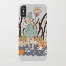 LOST ON THE WAY TO THE WITCH ACADEMY iPhone X Slim Case