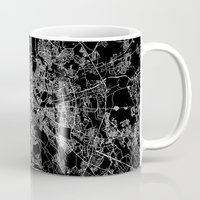 rome Mugs featuring Rome by Line Line Lines