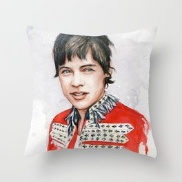 H Watercolors V Throw Pillow