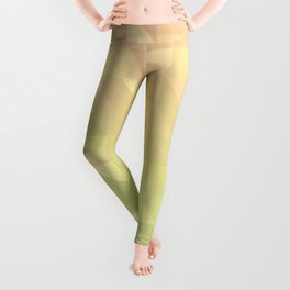 Pink and Green - Flipped Leggings