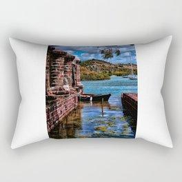 Nelsons Dockyard Rectangular Pillow