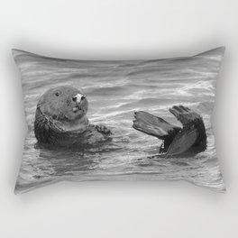 otter feet Rectangular Pillow