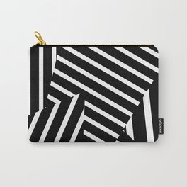 Op Art Triagles Carry-All Pouch