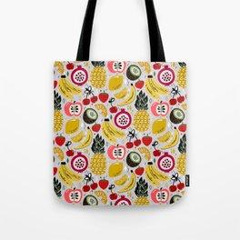 Tropical Fresh Funky Fruit Tote Bag