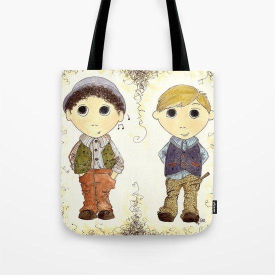 The Twins: Hugo & Harry Tote Bag