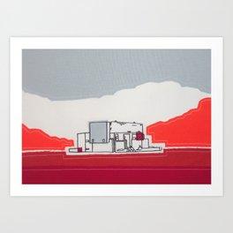 Torness Power Station - We've Got The Power Art Print