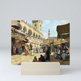 Alberto Rossi Arabian Market in Kaloun Mini Art Print
