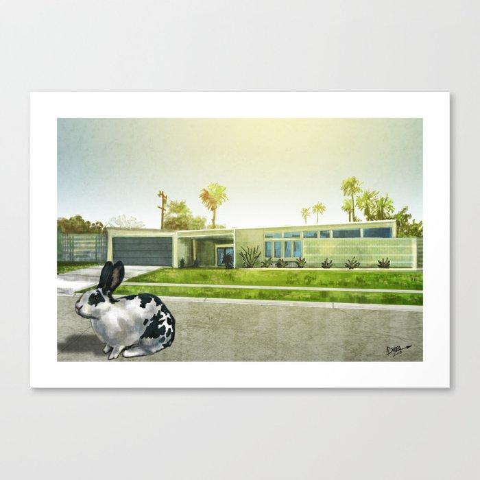 Modern Rabbit no. 1 Canvas Print
