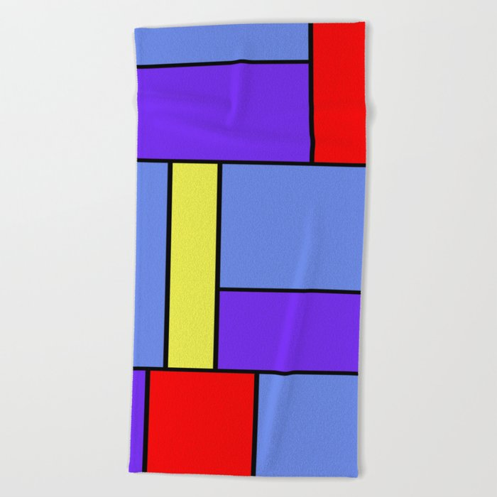 Abstract #482 Beach Towel